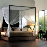 Elegant King Size Canopy Bed