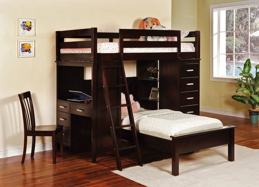 Embrace Twin Loft Bed with Storage Unit