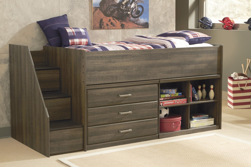 Image of: Embrace Twin Loft Bed with Storage
