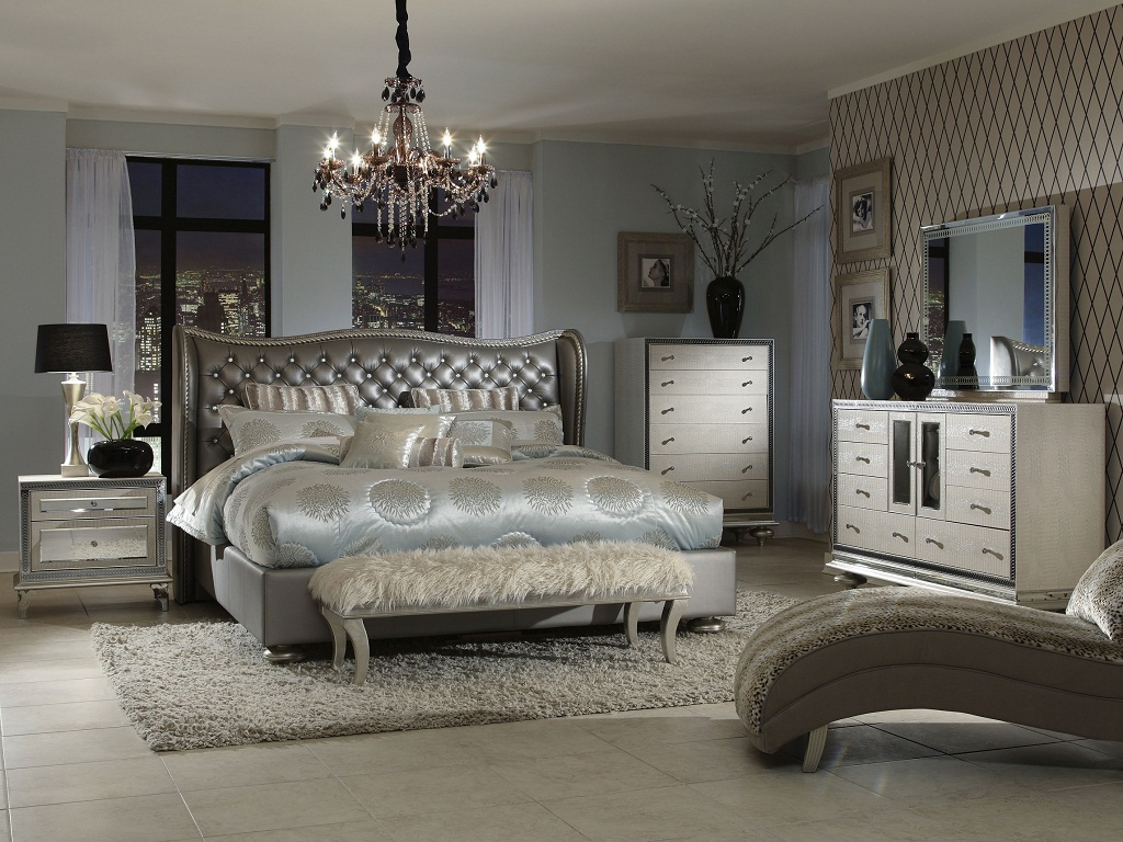 Image of: Excelsior AICO Bedroom Furniture