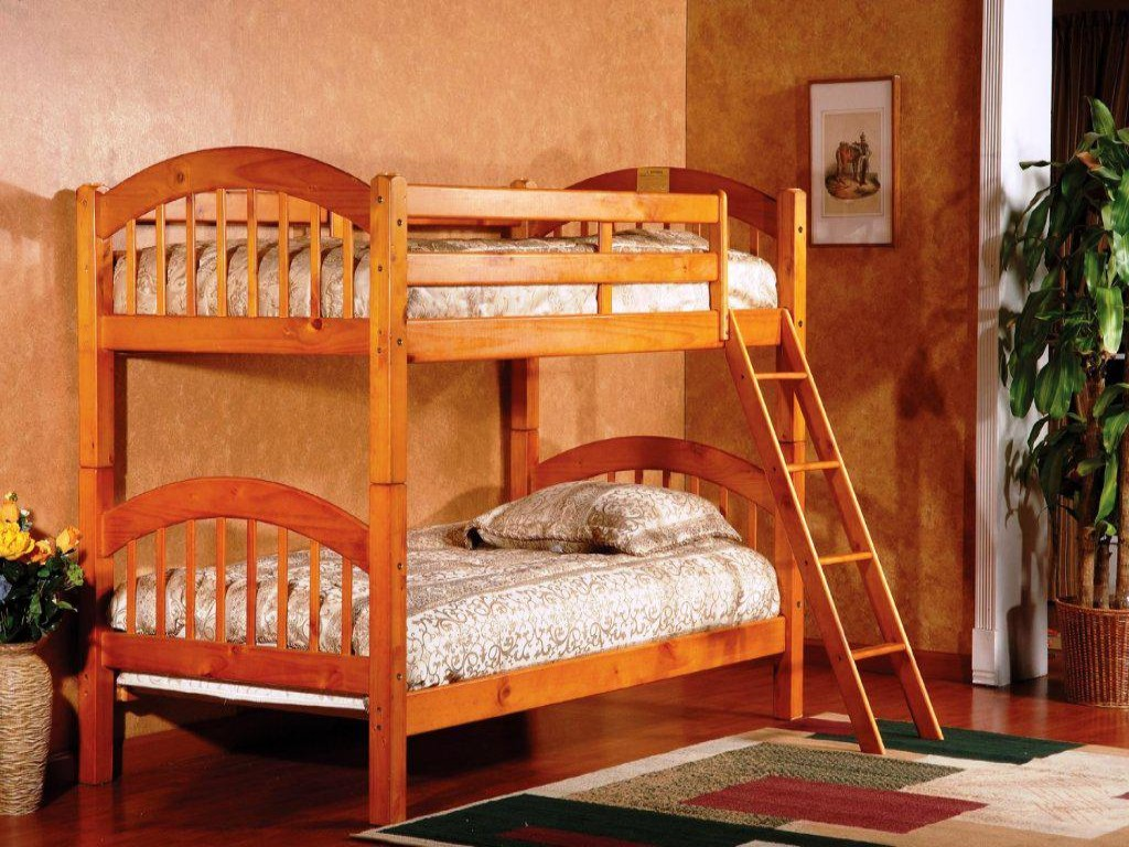 Image of: Full Size Loft Bed With Stairs Simple