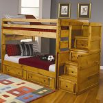 Full Size Loft Bed With Stairs Storage