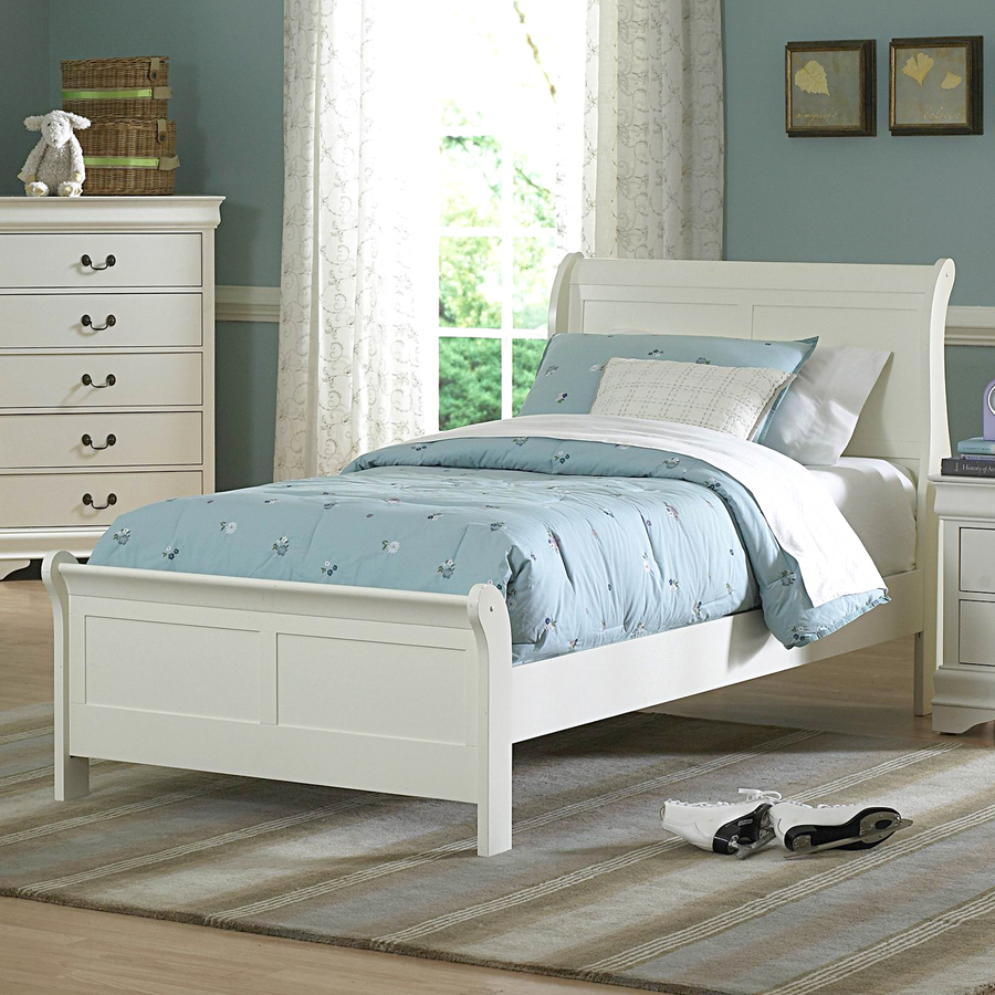 Image of: Good Twin Sleigh Bed