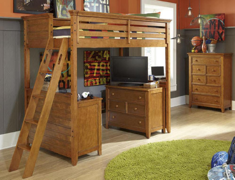 Guthrie Twin Size Loft Bed