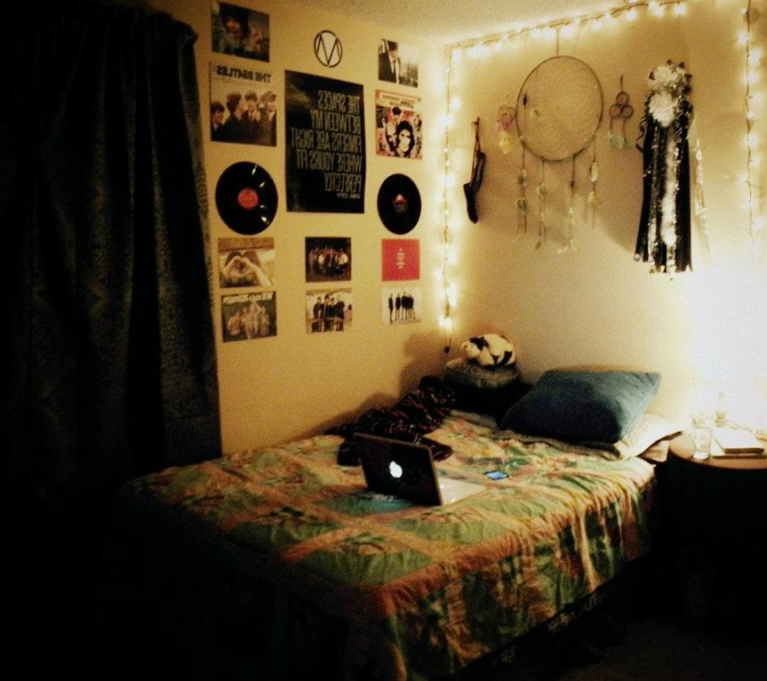 Image of: Indie Hipster Bedroom Ideas