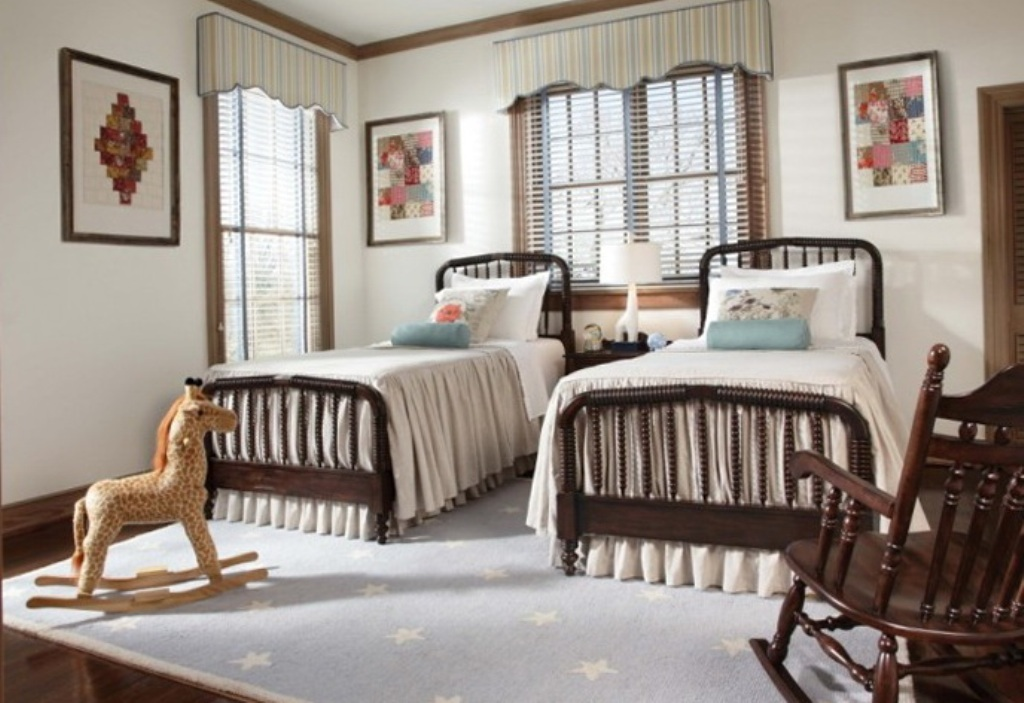Image of: Jenny Lind Twin Bed With Trundle