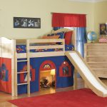 Kids Loft Bed Space Style