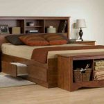King Bed Frame With Drawers Image