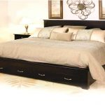 King Bed Frame With Drawers Underneath Plans