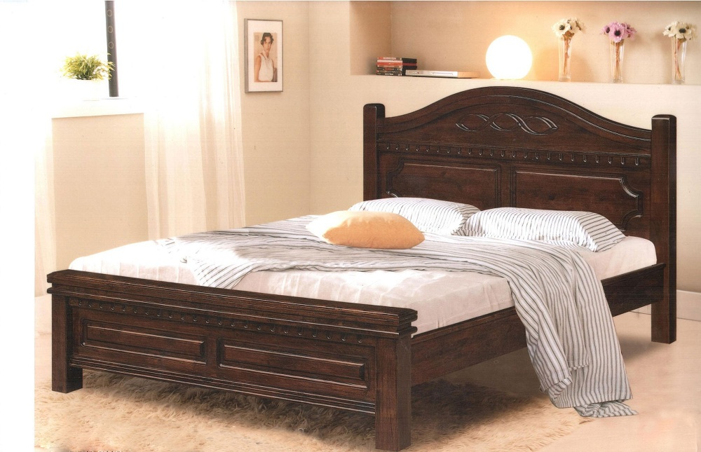 Image of: King Size Bed Frame with Headboard Designs