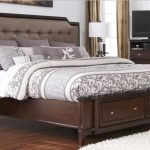 King Size Bed Frame with Headboard Ideas