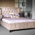 King Size Upholstered Bed Picture