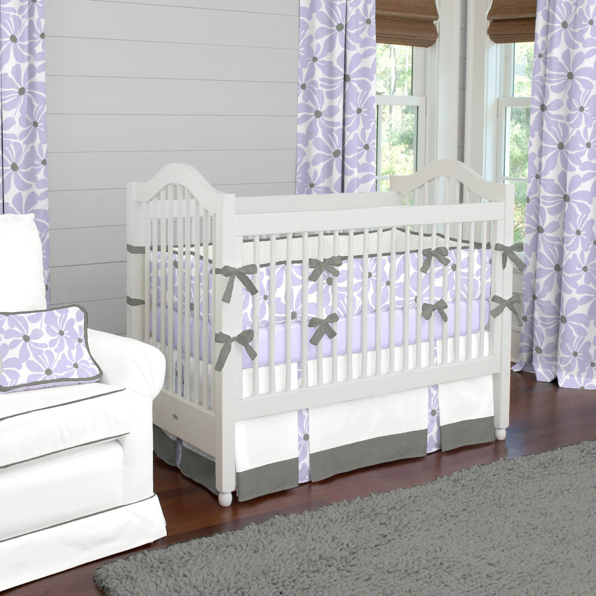 Image of: Lilac Crib Bedding Canada
