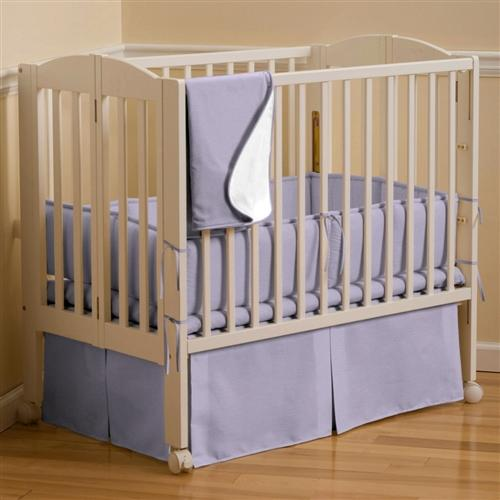 Image of: Lilac Mint Crib Bedding