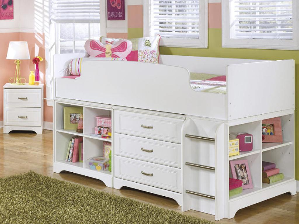 Image of: Loft Bed Twin Design