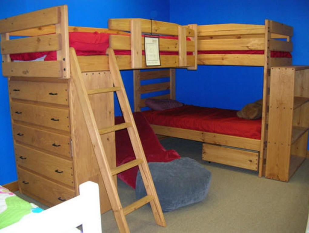 Image of: Loft Bed Twin Extra Long