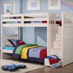 Loft Bed with Storage and Slide