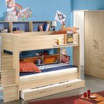 Loft Bed with Storage and Trundle