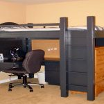 Loft Beds With Desk Black