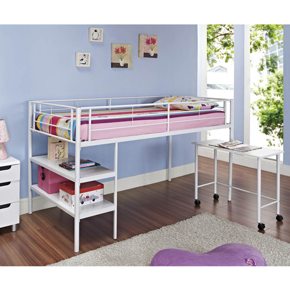 Image of: Loft Beds With Desk Pipe