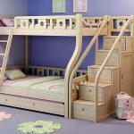 Loft Beds With Stairs Natural Wood