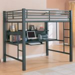 Loft Bunk Bed with Desk and Futon