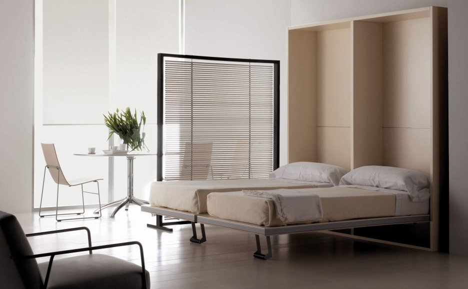 Image of: Luxury Twin Size Murphy Bed