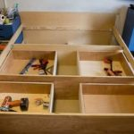Make A Bed Frame With Drawers