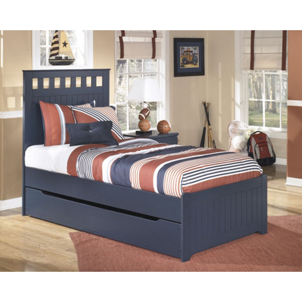 Image of: Minimalist Twin Bed With Trundle