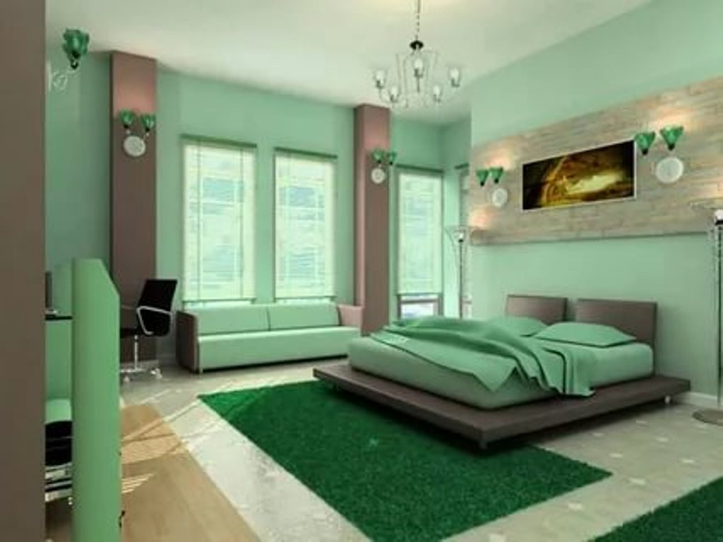 Image of: Mint Green Bedroom Ideas Photos