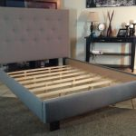 Modern King Size Bed Frame With Headboard