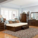 Modern Twin Bed Frame With Drawers