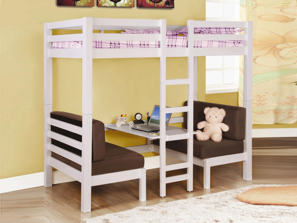 Image of: New Loft Bed For Kids