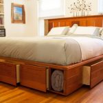 Nice King Size Bed With Drawers