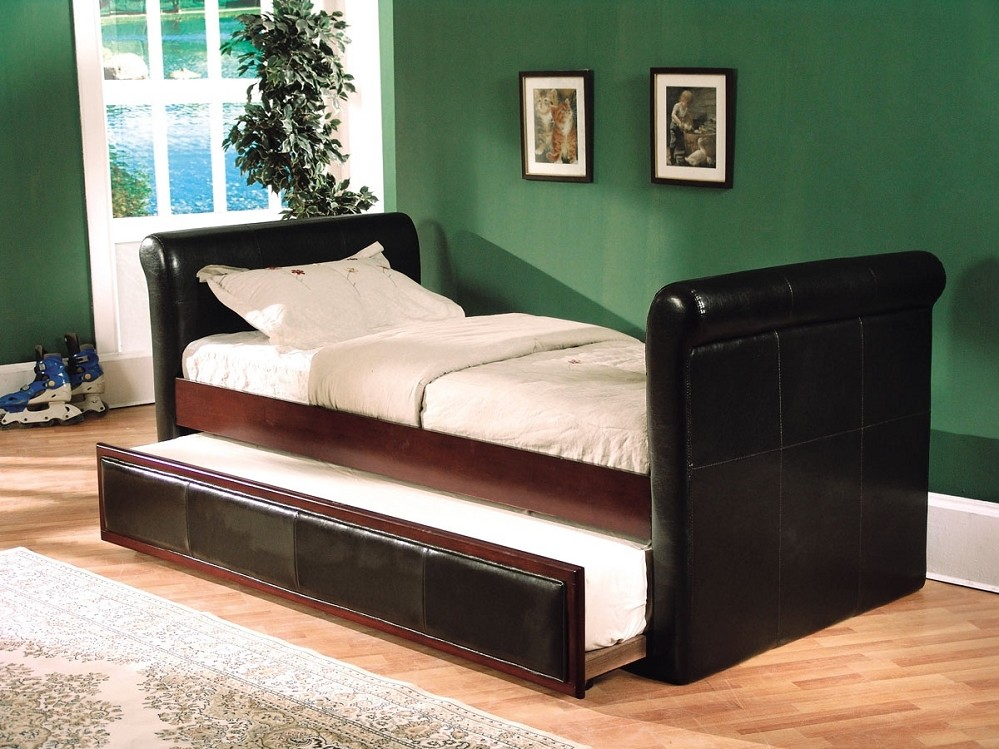 Image of: Perfect Twin Sleigh Bed