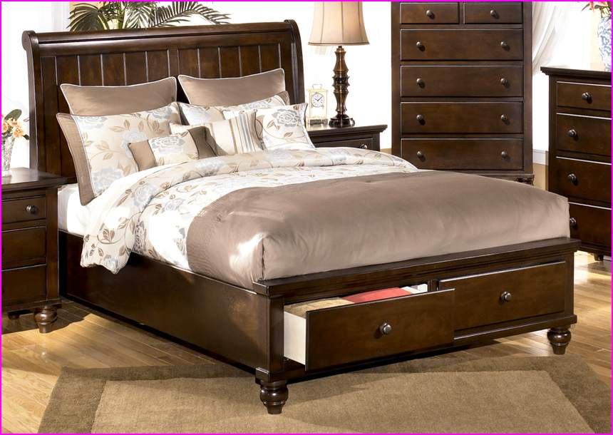 Image of: Pretty Ashley Furniture King Size Beds