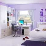 Purple Teen Girl Bedding Sets