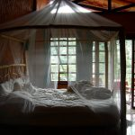 Rustic King Size Canopy Bed