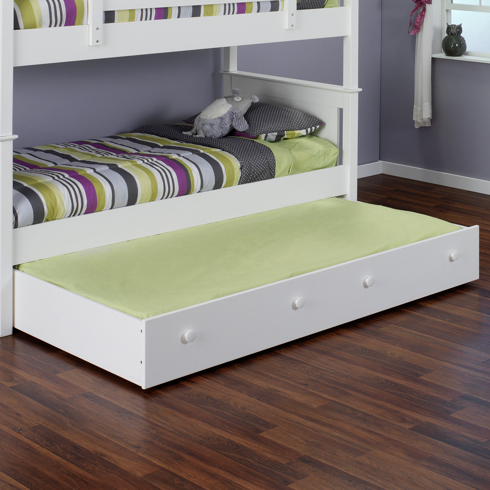 Image of: Simple Twin Bed With Trundle