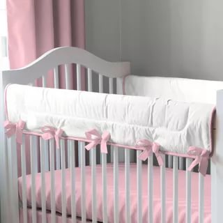 Image of: Solid Lilac Crib Bedding