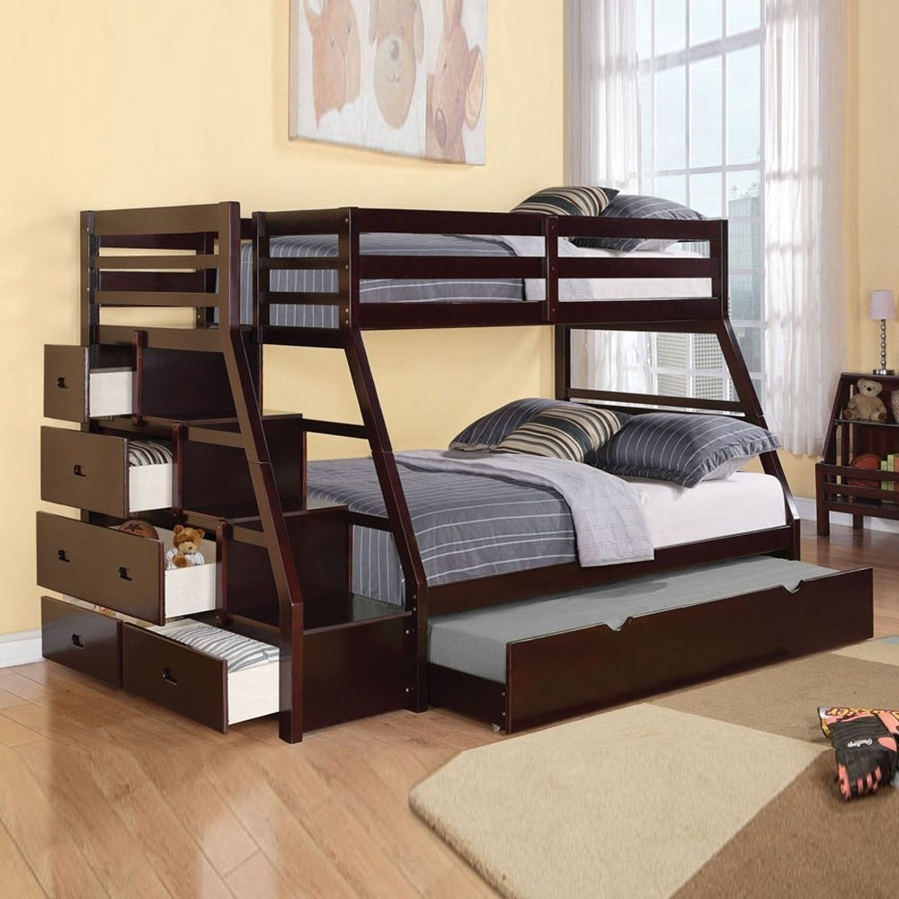 Image of: Style Twin Bed With Trundle