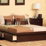 Stylish King Size Bed with Drawers