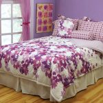 Target Teen Bedding and Curtains Purple
