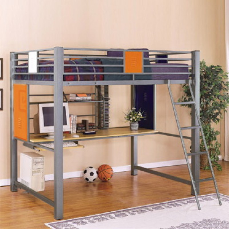 Image of: Teen Loft Bed Full Size