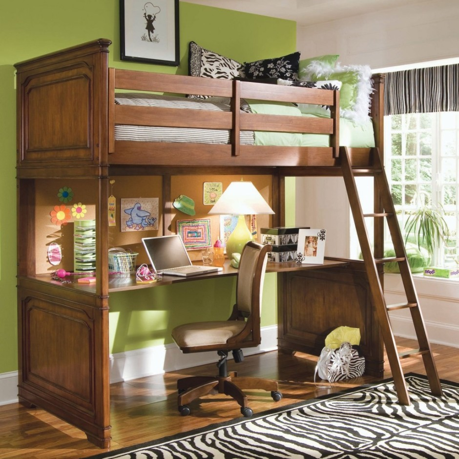 Teen Loft Bed Wood