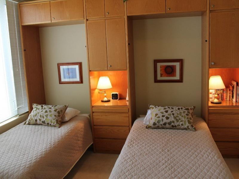 Image of: Teen Twin Wall Bed