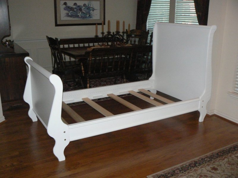Image of: Top Twin Sleigh Bed