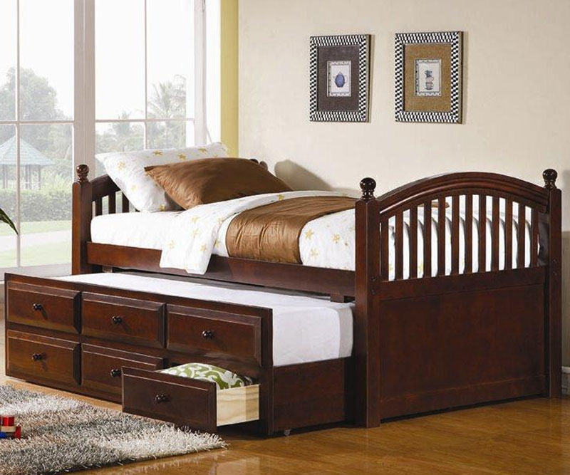 Twin Beds With Trundle And Drawer