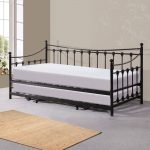 Twin Beds With Trundle Black Steel