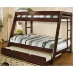 Twin Beds With Trundle Brown